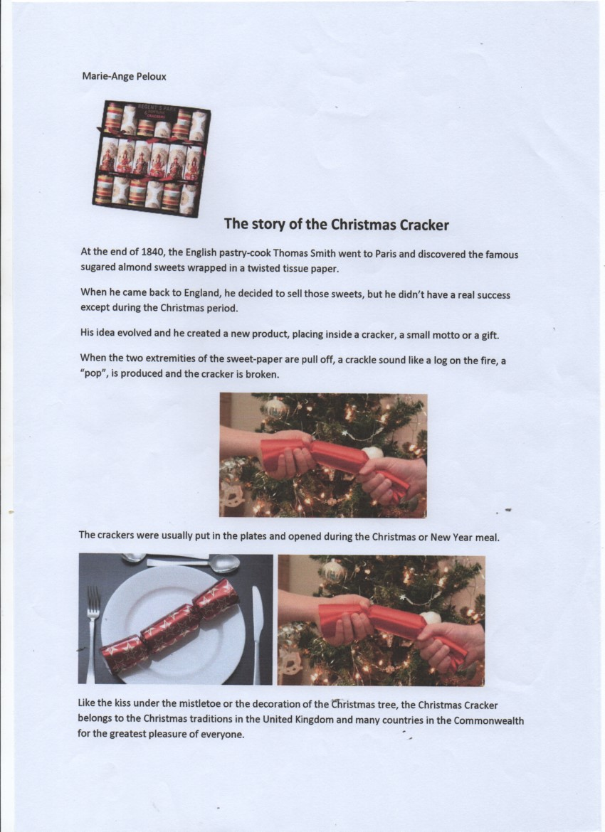 The Story of the Xmas Cracker